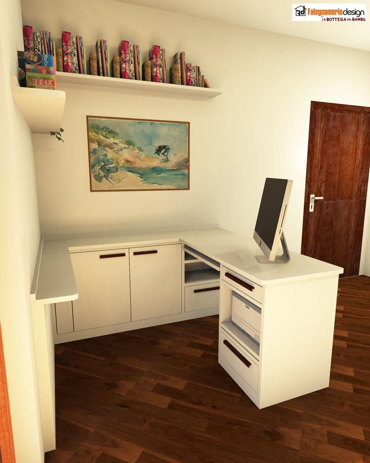 Scrivanie su misura roma falegnamerie design risparmia for Misure scrivania