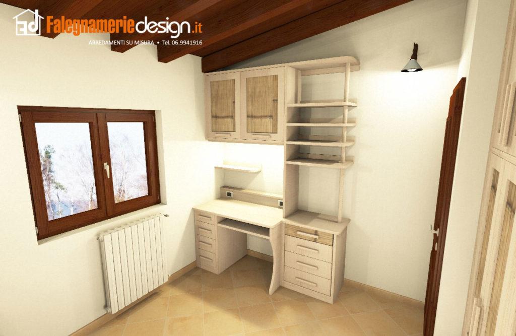 Latest scrivanie legno design scrivanie su misura roma - Scrivanie legno design ...
