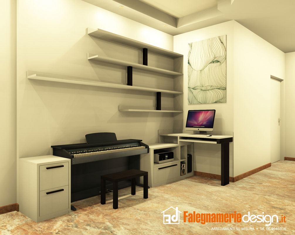Scrivanie su misura legno massello arredamenti e mobili - Scrivanie legno design ...