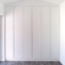 11a armadio mansardato in legno