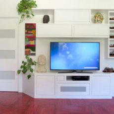 2c mobile porta tv in legno
