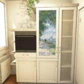 anta frigorifero personalizzata con stampa