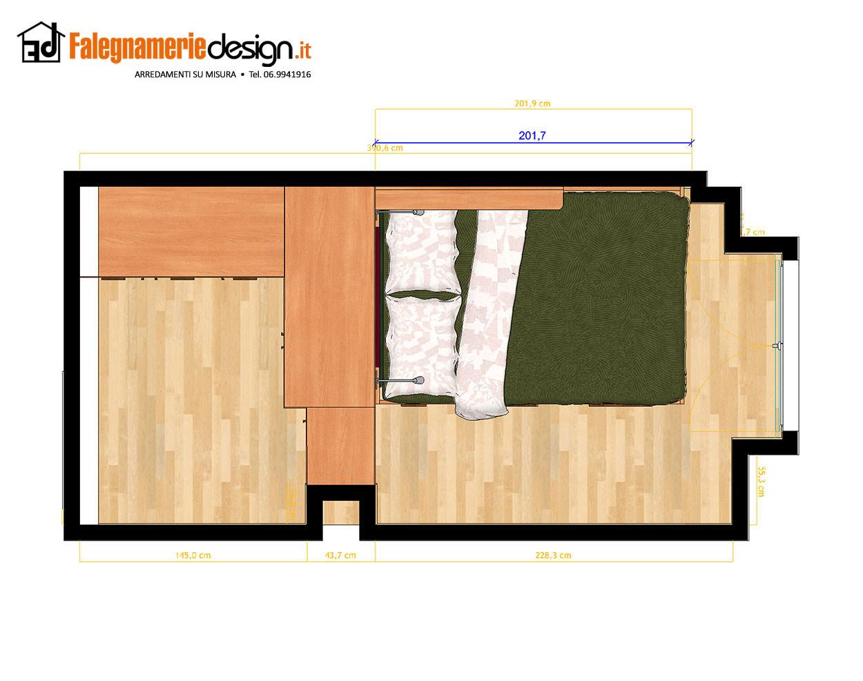Camere 303a arredamenti e mobili su misura roma for Falegnamerie design