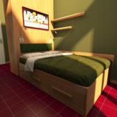 Camera su misura – Progetto 3