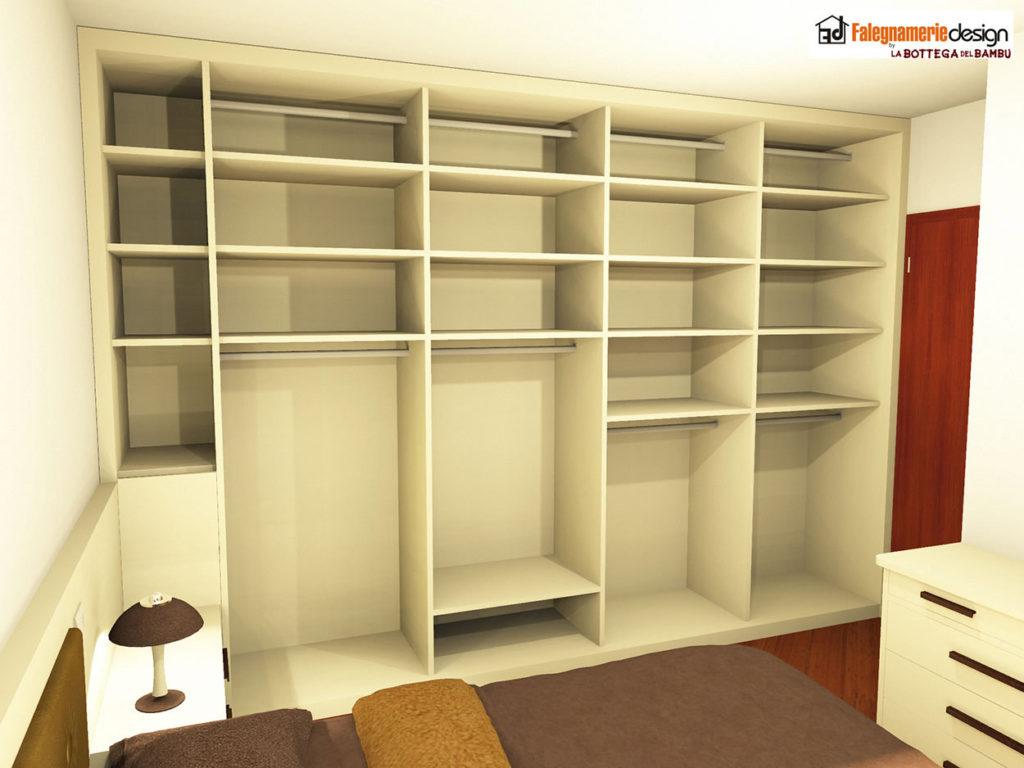 Camera su misura progetto 5 arredamenti e mobili su - Progetto camera ...