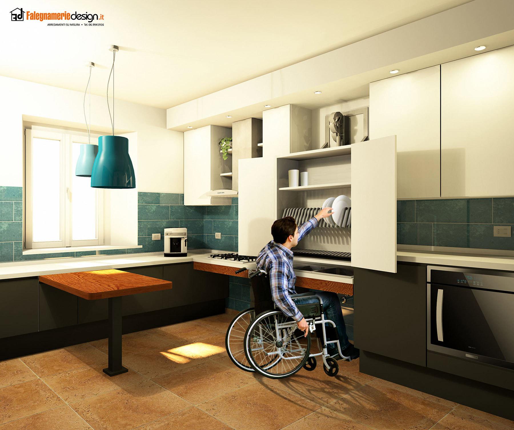arredi per disabili il su misura perfetto falegnamerie