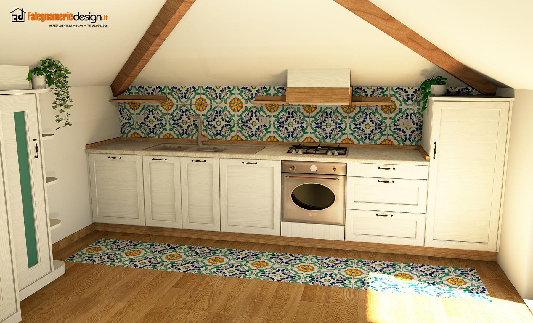 cucine per mansarde