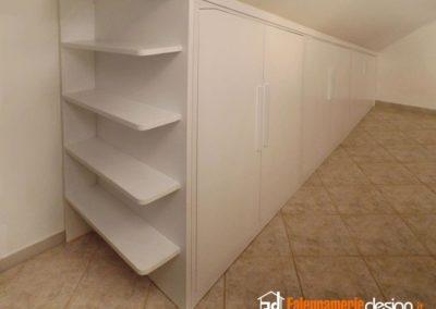 armadio per mansarde 135