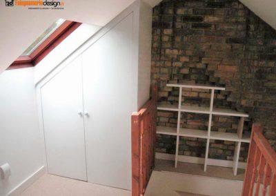 armadio per mansarde 144