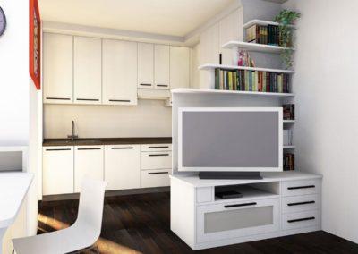 Mobile con tv per soggiorno