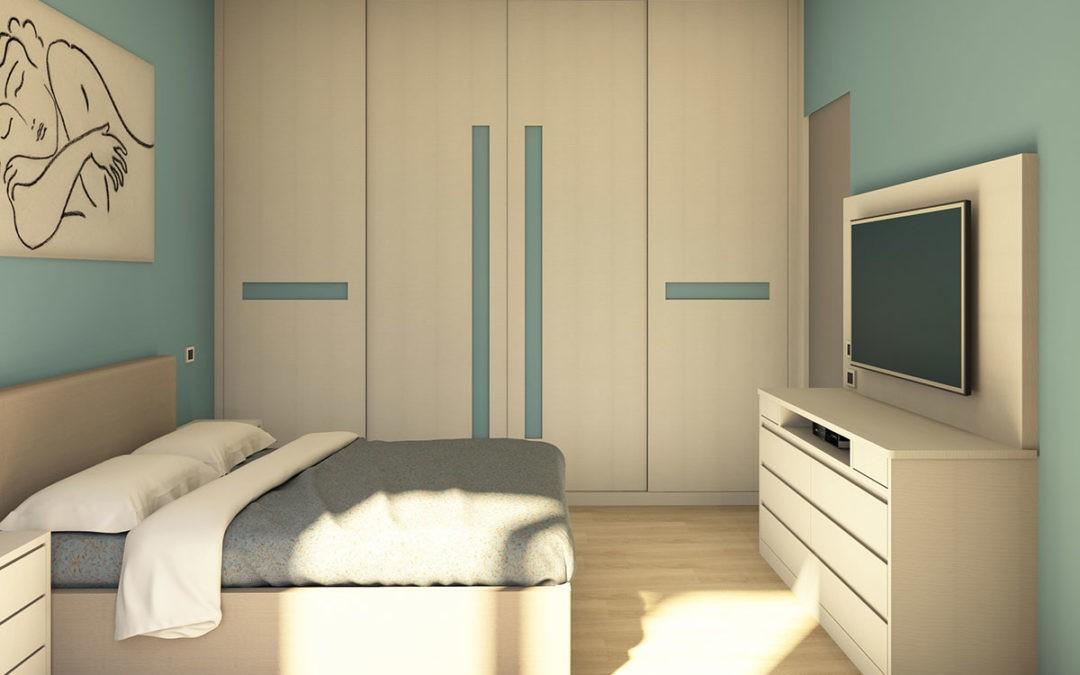 Camera da letto al centimetro