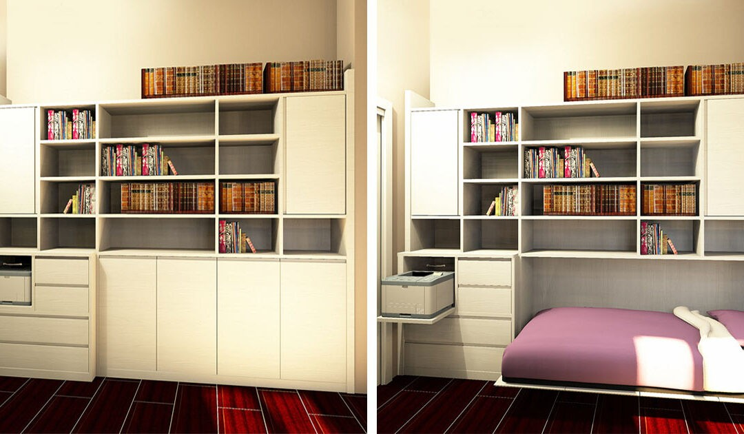 Come arredare una stanza molto piccola