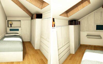 Valorizzare con l'arredamento una camera piccola